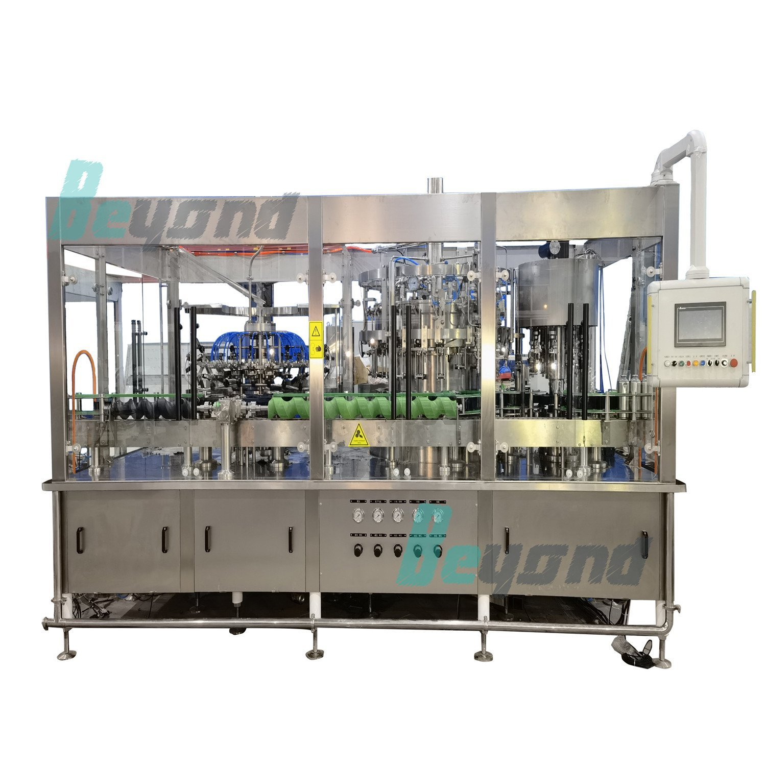 Glass Bottle Mineral Water Filling Machine Beyond bottling plant