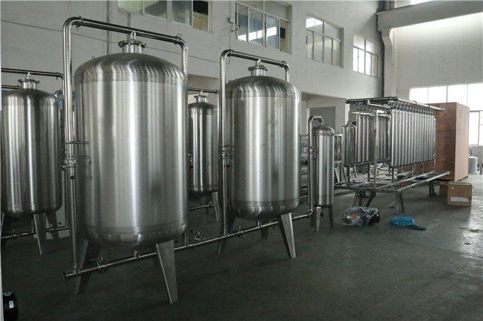 Beyond Water treatment system with sus304 material(2T/H)