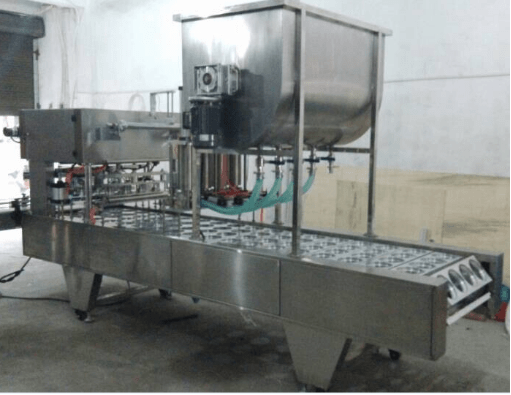 Hdpe Bottle Filling And Aluminum Foil Seaming Machine